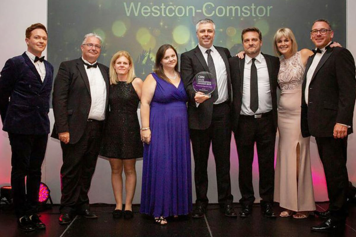 Westcon Comstor wins two CRN awards