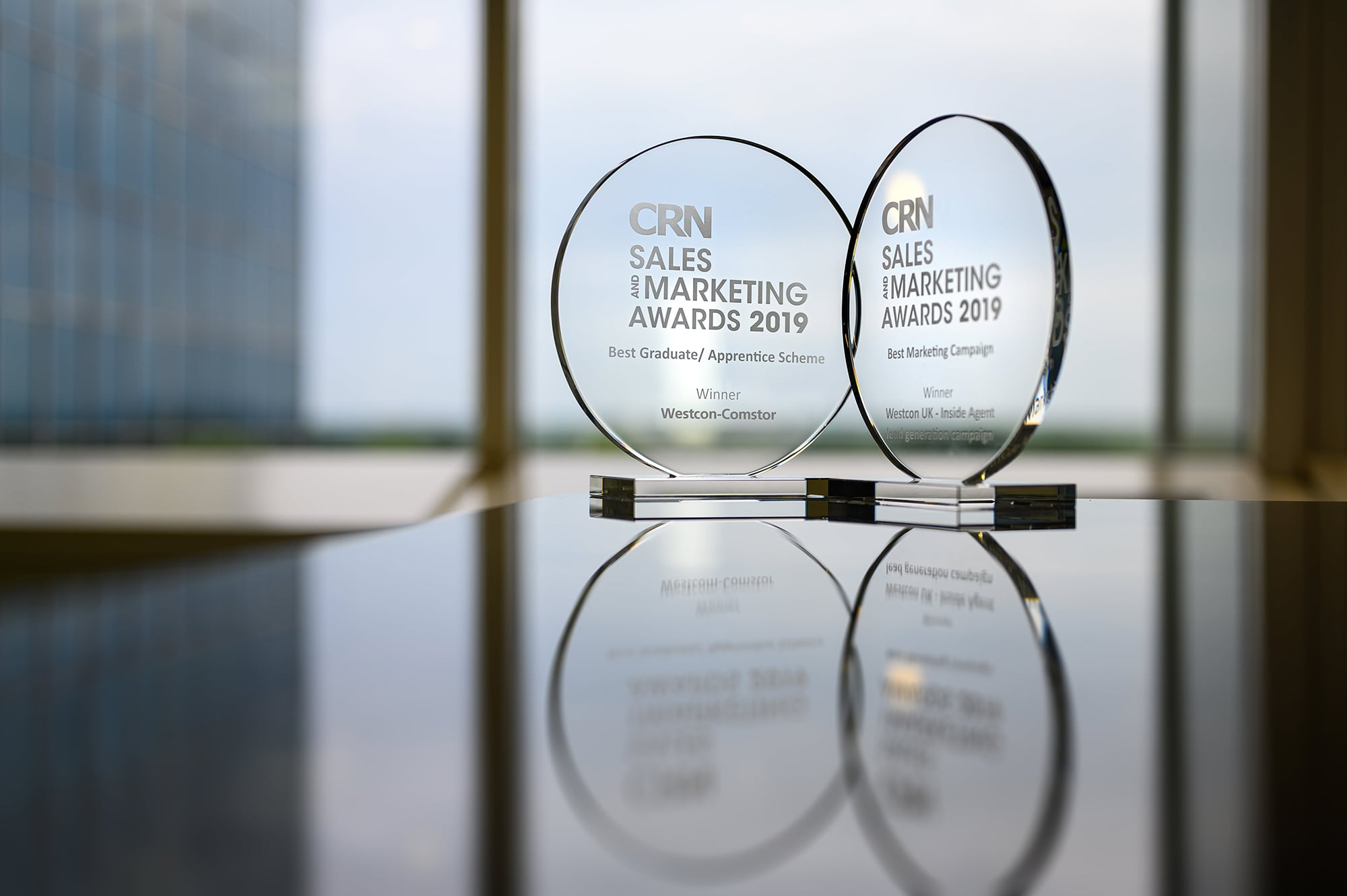 Westcon-Comstor wins two CRN awards